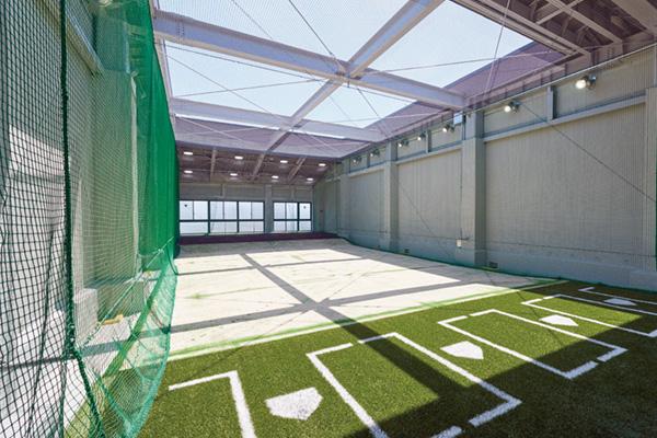 硬式野球部室内練習場 3F