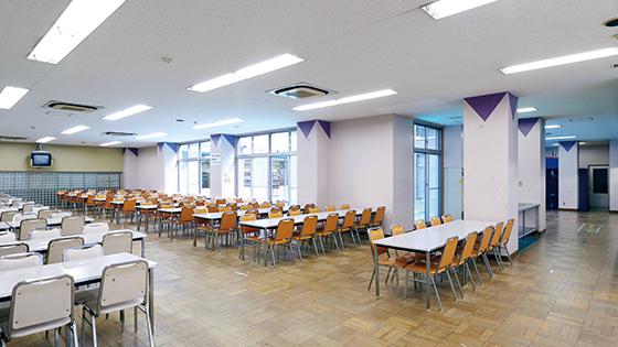 [B1F] 食堂