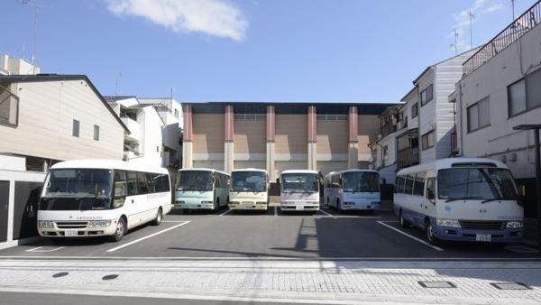 第二体育館駐車場